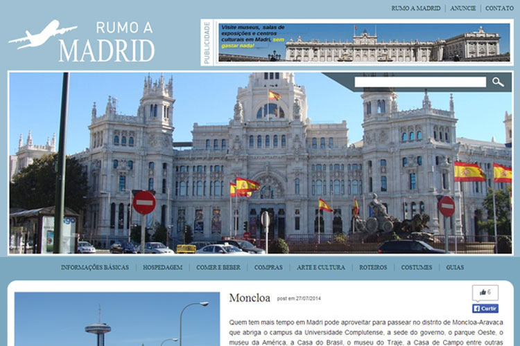 RUMO A MADRID